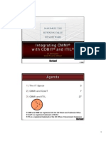 CobiT, ITIL and CMMI -- A Tutorial