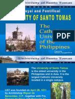 The University of Santo Tomas