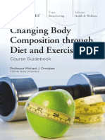 1994 Changing Body Composition Through Diet and Exercise Guidebook
