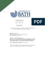 Bringing Wellbeing into Development Practice - August 2009.pdf
