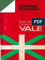 Guia de Conversacion Yale Espanol Euskera