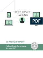 FTC (Federal Trade Commission) Cross-Device Tracking Report
