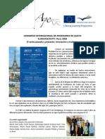 Informe ICVT7 Julio 2009, París