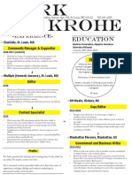 Burk Krohe Current Resume