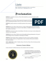 2017 School Choice Proclamation