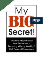 My Big Secret