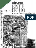 Gonzalez Wagner Carlos - El Proximo Oriente Antiguo (Vol I)