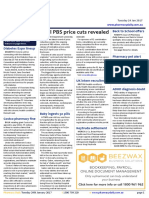 Pharmacy Daily for Tue 24 Jan 2017 - April PBS price cuts revealed, MA urges PBS transparency, Guild Update, Back to School spotlight and much more