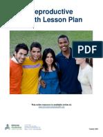 Reproductive Health Lesson Plan