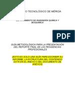 Guía Para Informe Tecnico IBQA_20161