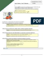 Ejercicios sobre polinomios