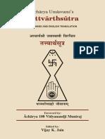 Dzynizm Acharya Umasvami's Tattvarthsutra.pdf