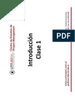 Utn-pme-clase 01-Introduccion a Pm v.1.0.0 -Revisado