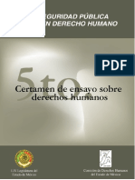 Seguridad Publica y Los Derechos Humanos