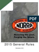 NORRA 2015 General Rules v2.6