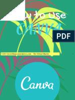How to Use CANVA like a Pro - Jayvee Cochngco - The Virtul Master