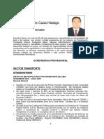 Jorge Cuba hidalgo-curriculum completo