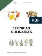 Tecnicas Culinarias i