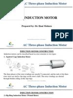 AC Three-phase Induction Motor