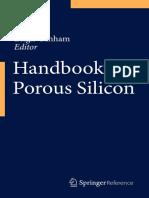 Leigh Canham (Eds.)-Handbook of Porous Silicon-Springer International Publishing (2014)