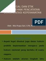 Aspek Legal Dan Etik Dalam Tehnik Pencatatan Dokumentasi