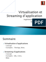 Virtualisation Et Streaming d Application