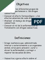 Drogas vasoactivas