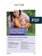 Delta Dental Plan Booklet