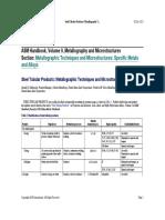 06 Técnicas de Metalografías y Atlas; Productos Tubulares de Acero