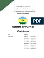 Informe Sistemas Operativos