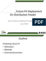 Predicting future PV deployment on Distribution feeder