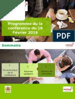Programme conférence du 16/02/2017