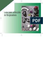 Guía de Selección  RESPIRADORES 2005  en Español.pdf