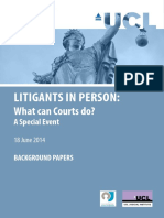 Litigants in Person What Can Courts Do June 2014