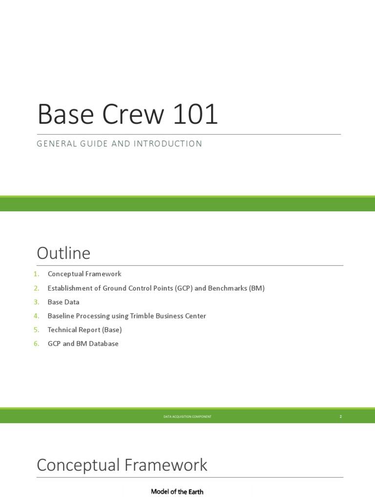 Base Crew 101   Geomatics   Cartography