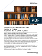 Deloitte Tax Alert_New TP Documentation Requirement (PMK 213)_English