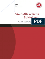 FSC Audit Guidelines