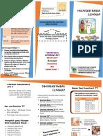 Leaflet Imunisasi Dasar Lengkap