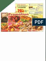 SubangCrabHouse 20%Promotion