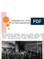 History of Cooperative in the Philippines