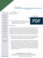 Response to David Aviles Ethics Complaint Against Mayor, Svarzbein, Tolb...