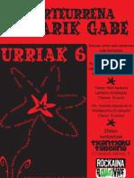 Mugarik Gabe 20. urteurreneko kartela