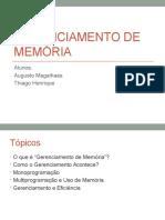 SLIDES 1-Gerenciamento de Memória
