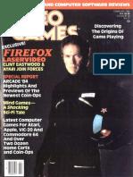 Video Games Volume 2 Number 05 1984-02 Pumpkin Press US