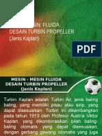 Desain Turbin Kaplan