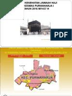Profil Kesehatan Haji Puskesmas Purwaharja i