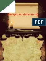 Bangko at Sistema Ng Pilipinas