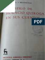 Nicolás Bratosevich - El estilo de Horacio Quiroga en sus cuentos 1