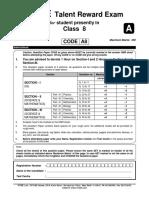 Ftre 2013 Class 8 Paper 2