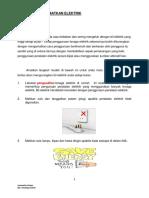 Tips Jimat Elektrik - Kamarudin 1